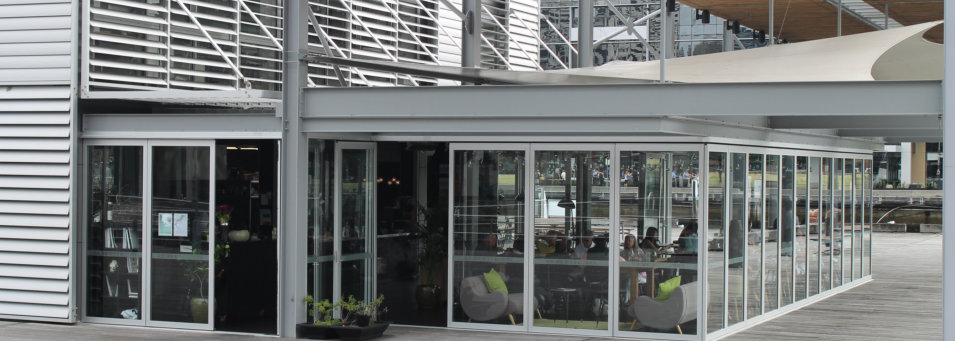 Aluminium Stacking Doors